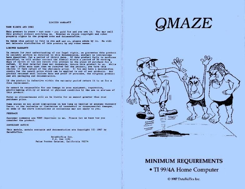 QMaze (Databiotics).pdf