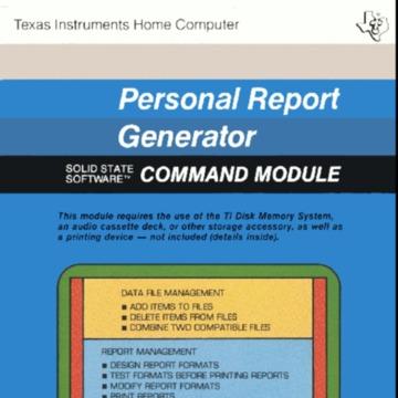 Personal Report Generator.pdf