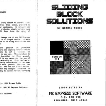 Sliding Block Solutions III manual.pdf